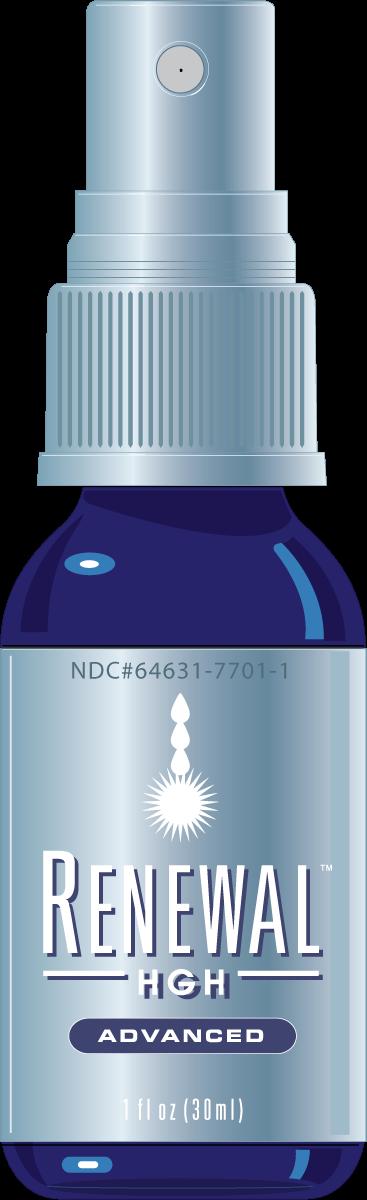 Renewal Advanced HGH Spray: Energy, Mood, Sleep, Memory
