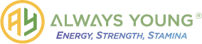 Always Young Logo – Energy, Strength, Stamina