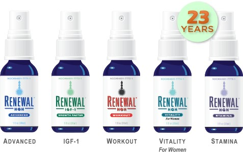 Renewal HGH Give-Away Products