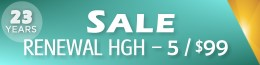 Renewal HGH Sale Details