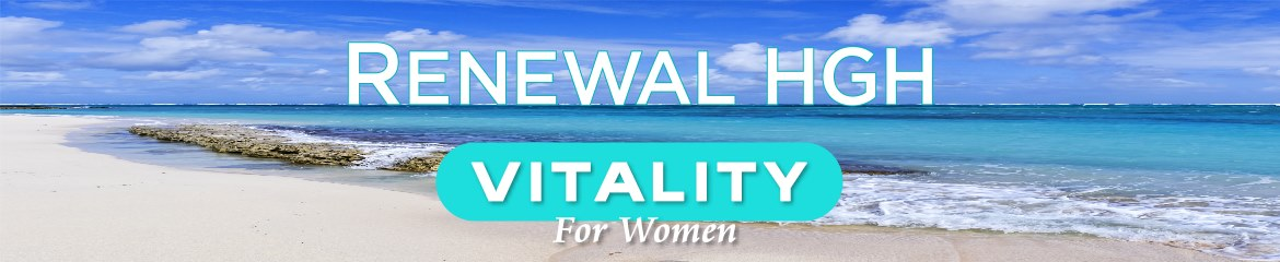 Renewal Vitality For Women product name on natural background